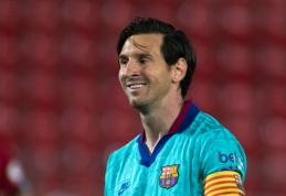 L. Messi pasižymėjo dar vienu įsimintinu pasiekimu