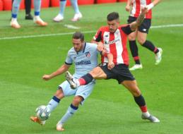 """""""Atletico"""" ir Bilbao """"Athletic"""" pasidalino po tašką"""
