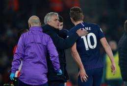 """J. Mourinho patvirtino, kad H. Kane'as rungtynes su """"Man Utd"""" pradės startinėje sudėtyje"""