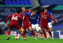 """""""Liverpool"""" žygį titulo link pradėjo lygiosiomis su """"Everton"""""""