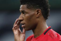 FA taurės ketvirtfinalį dėl traumos praleidęs M. Rashfordas prisijungs prie Anglijos rinktinės