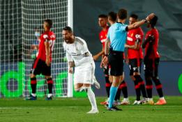 """""""Real"""" pergalė pažymėta nuostabiu S. Ramoso baudos smūgiu"""