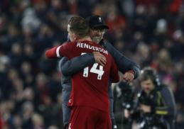 """J. Hendersonas po triumfo """"Premier"""" lygoje negailėjo gražių žodžių J. Kloppui"""