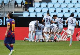 """I. Aspaso įvartis rungtynių pabaigoje atėmė gyvybiškai svarbius taškus iš """"Barcos"""""""