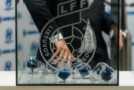 Paaiškėjo LFF taurės aštuntfinalio poros