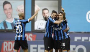 """""""Inter"""" be gailesčio pervažiavo """"Brescia"""" ekipą"""