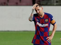 """""""Barcelona"""" prezidentas pakomentavo gandus apie galimą L. Messi išvykimą"""
