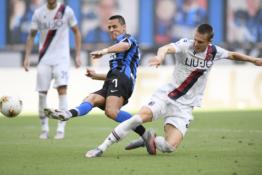 """""""Inter"""" gavo skaudų antausį nuo """"Bologna"""", """"Atalanta"""" priartėjo prie trečiosios vietos"""