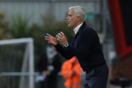 """J. Mourinho po lygiųjų su """"Bournemouth"""" ir vėl kritikavo VAR"""
