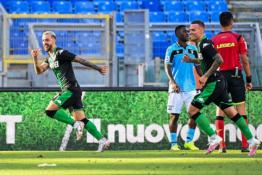 """Duobėje esanti """"Lazio"""" ekipa turėjo pripažinti """"Sassuolo"""" pranašumą"""