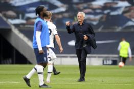 """J. Mourinho po pergalės prieš """"Arsenal"""" džiaugėsi žaidėjų atsidavimu"""