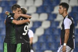 """Staigmena Italijoje: """"Juventus"""" nesugebėjo įveikti """"Sassuolo"""" ekipos"""