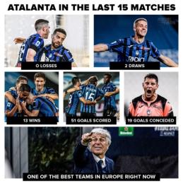 """Fantastiška """"Atalanta"""" sportinė forma"""