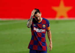 Nusivylęs L. Messi: buvome labai padrika ir silpna komanda