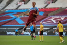 """""""West Ham"""" sukirto rankomis su T. Součeku"""