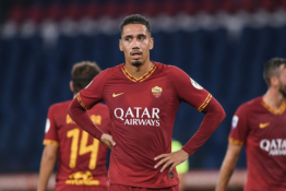 "C. Smallingas nepadės ""Roma"" ekipai Europos lygos sezono finiše"
