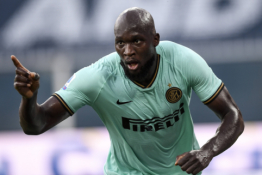 """Serie A"": R. Lukaku rekordu paženklinta ""Inter"" pergalė"