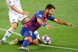 """L. Suarezas įvertino """"Barcos"""" šansus prieš """"Bayern"""""""