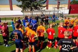 Atvirosios peržiūros subūrė Lietuvos jaunuosius futbolininkus