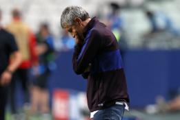 """Pasitraukti atsisakęs Q. Setienas: """"Bayern"""" pelnė daugiau įvarčių nei nusipelnė"""