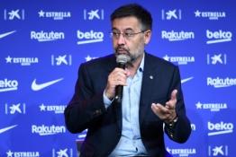 """""""Barcelona"""" prezidentas J. M. Bartomeu ir kiti valdybos nariai atsistatydina iš pareigų"""