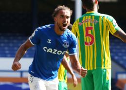 """""""Everton"""" su D. Calvertu-Lewinu priešakyje sutriuškino """"West Brom"""""""