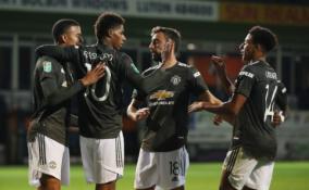 """""""Man Utd"""" žengė į kitą Anglijos lygos taurės etapą"""