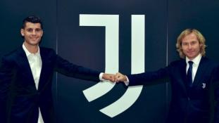 """Oficialu: A. Morata grįžta į """"Juventus"""""""