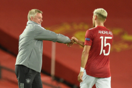 """""""Man Utd"""" trečią kartą paskolino A. Pereirą"""