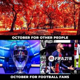 Skirtingas spalio mėnuo