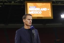 F. de Boeris pasitraukė iš Nyderlandų vyriausiojo trenerio posto