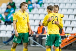 Puiki Lietuvos futbolo savaitė: U-21 rinktinė nubaudė bendraamžius iš Graikijos