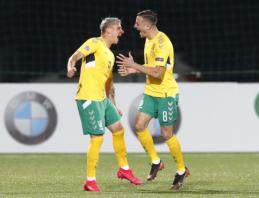 Geriausiu Lietuvos futbolininku antrą kartą karjeroje tapo A. Novikovas