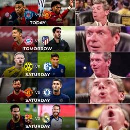 Karšta savaitė futbolo gerbėjams