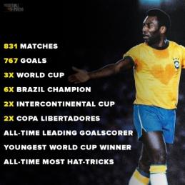 Šiandien 80–ąjį gimtadienį mini legendinis Pele