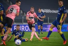 """""""Juventus"""" dar kartą prarado taškus """"Serie A"""" pirmenybėse"""