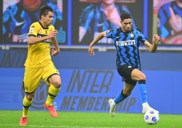 """""""Serie A"""": """"Inter"""" tik per pridėtą laiką iškovojo tašką"""