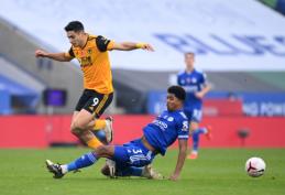 """""""Leicester"""" minimaliu skirtumu palaužė """"Wolves"""""""