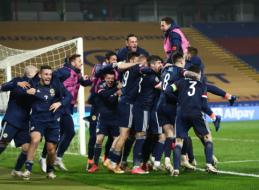 Škotija po 25 metų pertraukos žais Europos futbolo čempionate