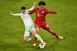 """Bayern"" nesugebėjo įveikti ""Werder"" ekipos"