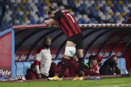 """""""Milan"""" fanai meldžiasi: Z. Ibrahimovičius patyrė kojos traumą"""