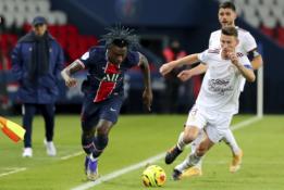 """PSG nesugebėjo įveikti """"Bordeaux"""" ekipos"""