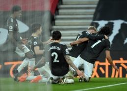 """E. Cavani atvedė """"Man Utd"""" į dramatišką pergalę prieš """"Southampton"""""""