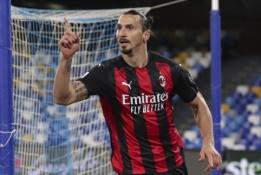 """Oficialu: Z. Ibrahimovičius pratęsė kontraktą su """"AC Milan"""""""