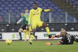 """""""Verona"""" išvykoje susitvarkė su """"Lazio"""""""