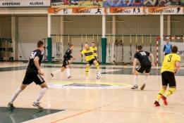 """Futsal A lygos šeštadienis: """"Akmenė"""" bandys atsirevanšuoti panevėžiečiams, """"Radviliškis"""" - mažeikiškiams"""