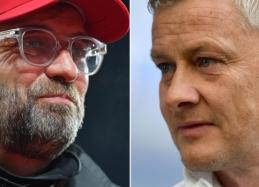 """Lyderių susidūrimas Anglijoje: """"Liverpool"""" – """"Man Utd"""""""