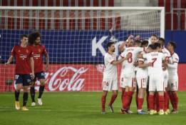 """""""Sevilla"""" pratęsė pergalių seriją Ispanijoje"""