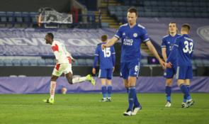 """""""Slavia"""" užbaigė """"Leicester"""" žygį Europos lygoje"""