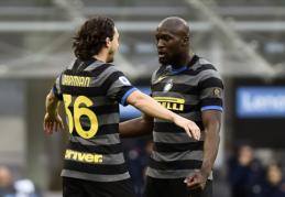 """""""Inter"""" užtikrintai žygiuoja trofėjaus link"""
